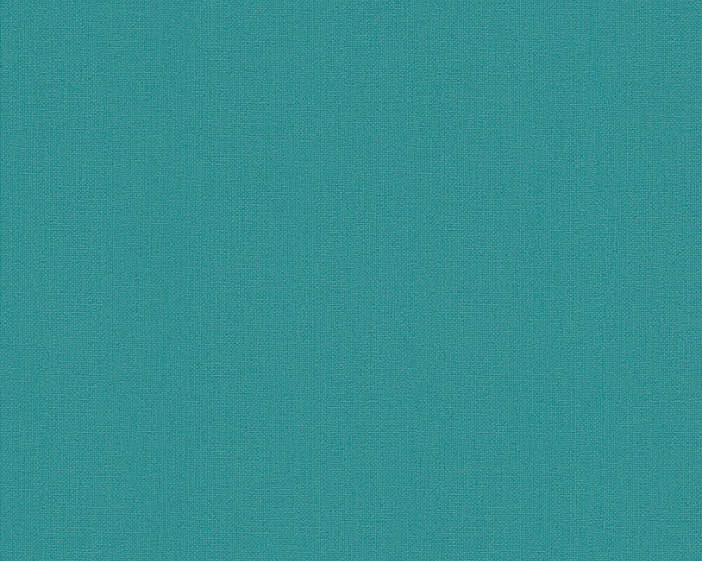 A.S. Création Wallpaper Uni, Blue, Green, Turquoise 366965