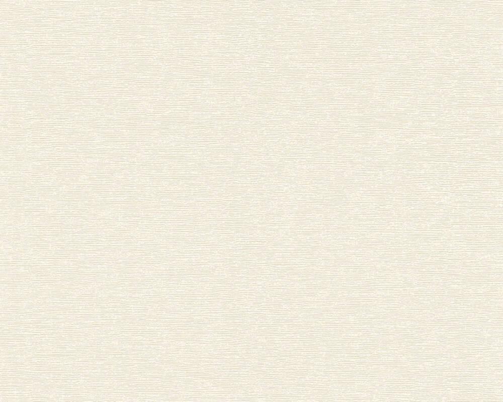 A.S. Création papier peint Uni, beige, crème 367023