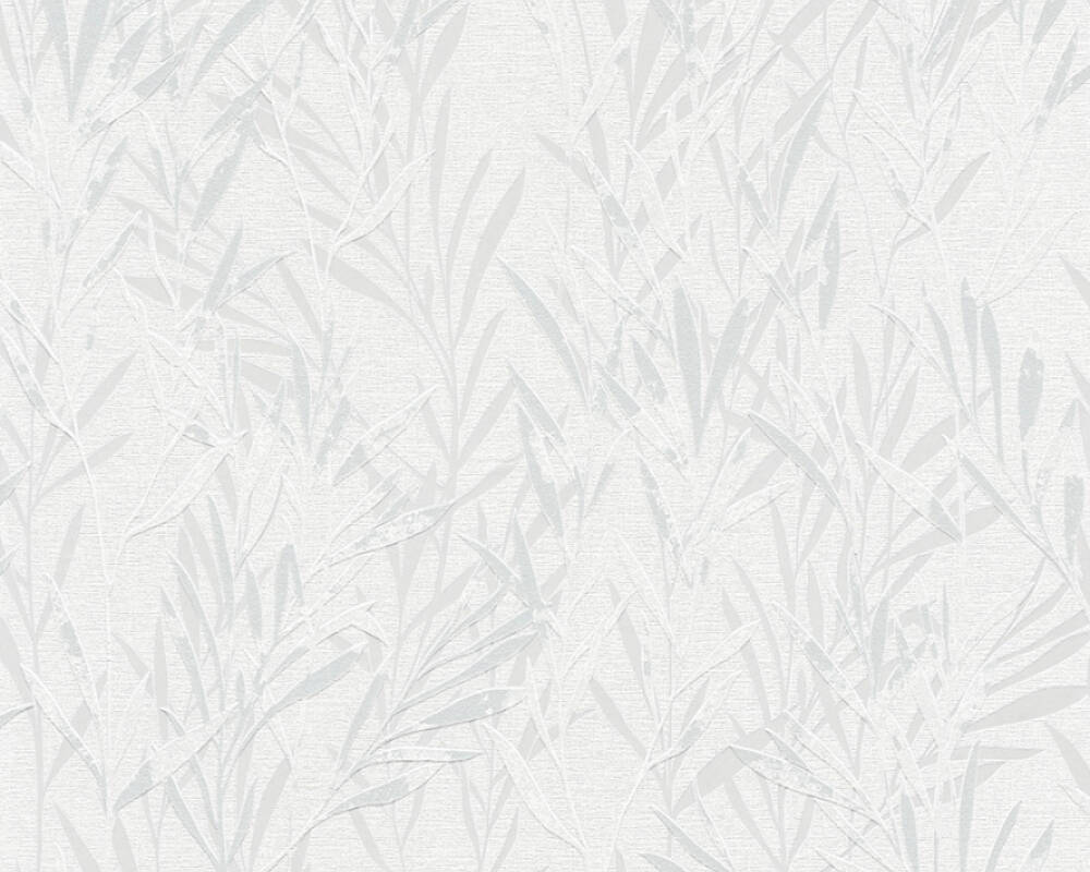 A.S. Création Wallpaper Floral, Grey, White 367121