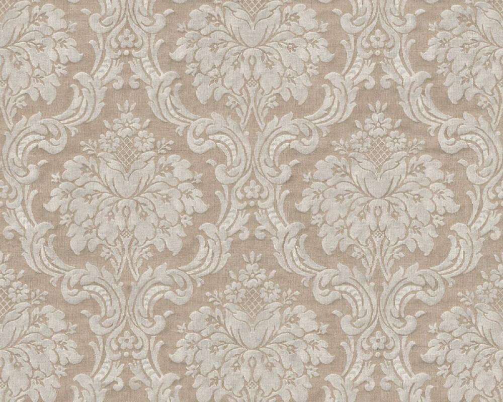 Livingwalls Wallpaper Baroque, Beige, Brown 367163