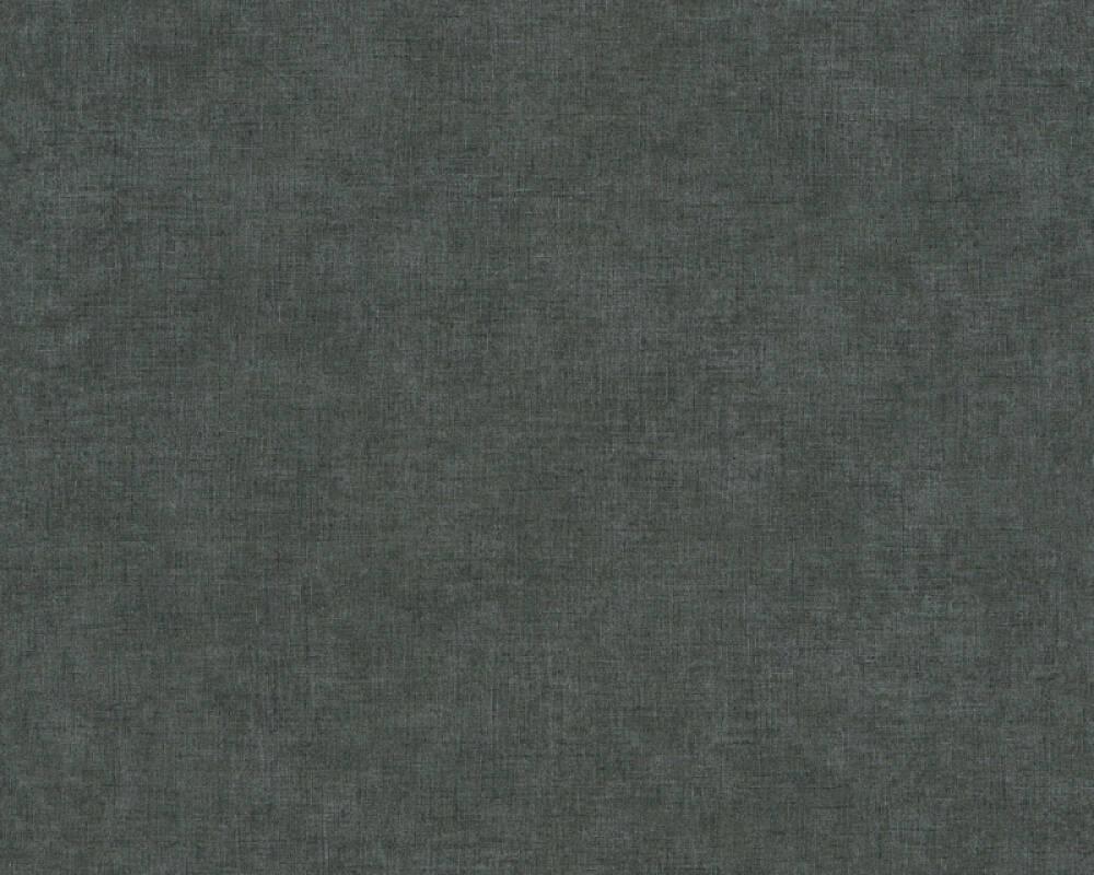 Livingwalls Wallpaper Uni, Black 367219