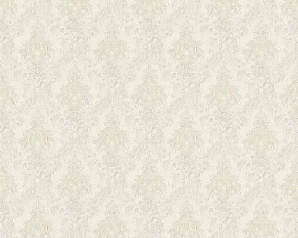 A.S. Création papier peint Textile, blanc, crème 367321