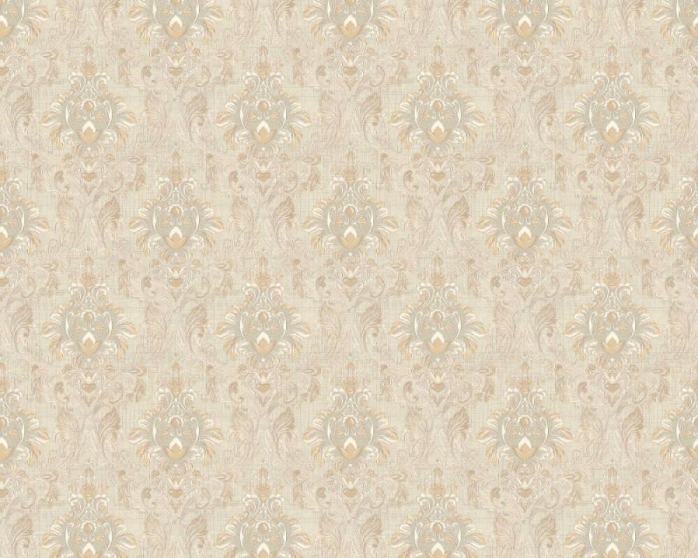 A.S. Création Tapete Textil, Beige, Creme, Weiß 367324
