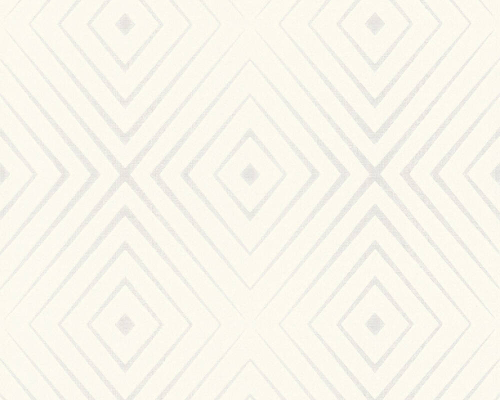 A.S. Création Wallpaper Graphics, 3D, Cream, White 367851