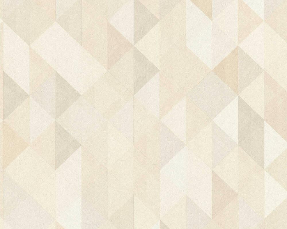 A.S. Création Tapete Grafik, Beige, Braun, Creme, Grau 367861