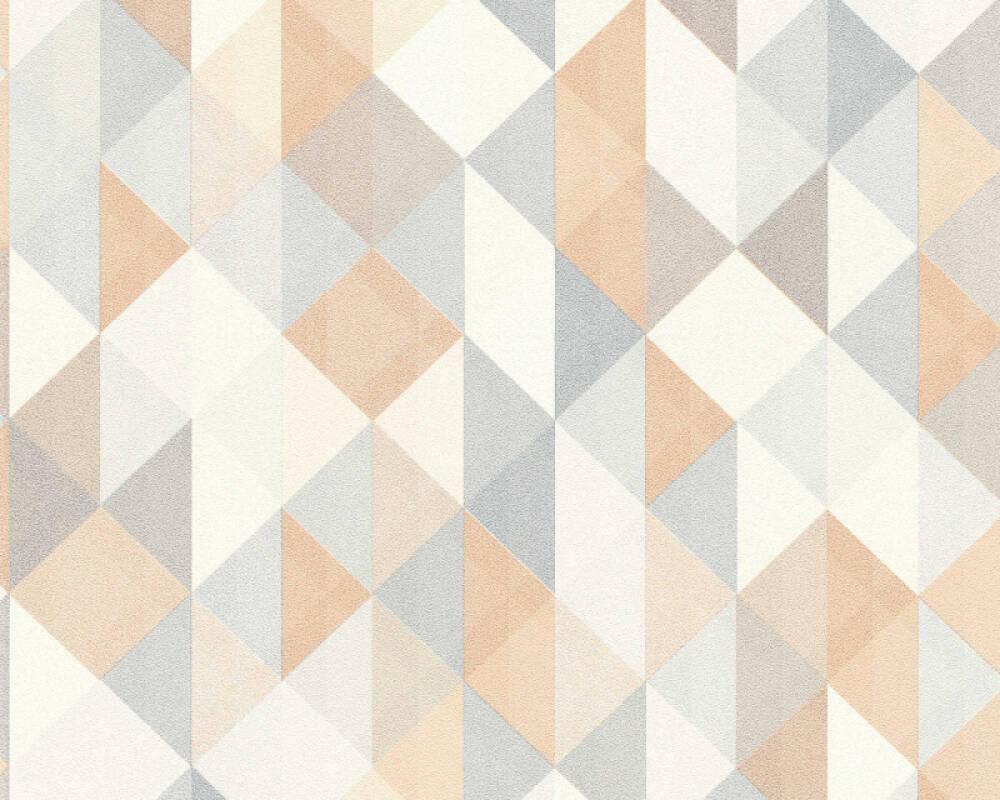 A.S. Création Tapete Grafik, Beige, Braun, Grau, Silber 367862