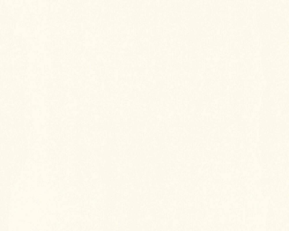 A.S. Création Tapete Uni, Grau, Metallics, Weiß 368003