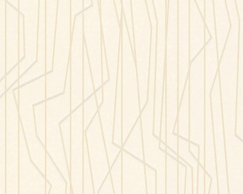 Private Walls Tapete Grafik, Creme 368781
