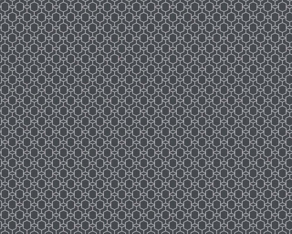 Private Walls Обои Графика, Металлик, Серебро, Черные 368831