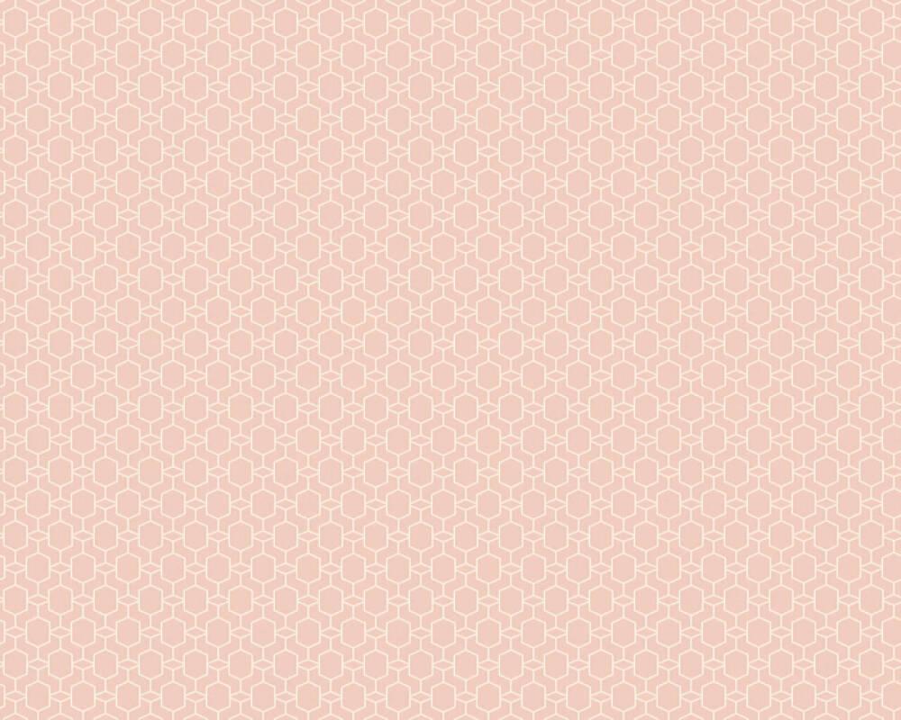 Private Walls Tapete Grafik, Rosa 368833