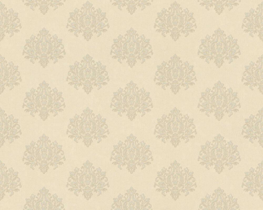 A.S. Création papier peint Baroque, beige, crème, métallique, or 368874