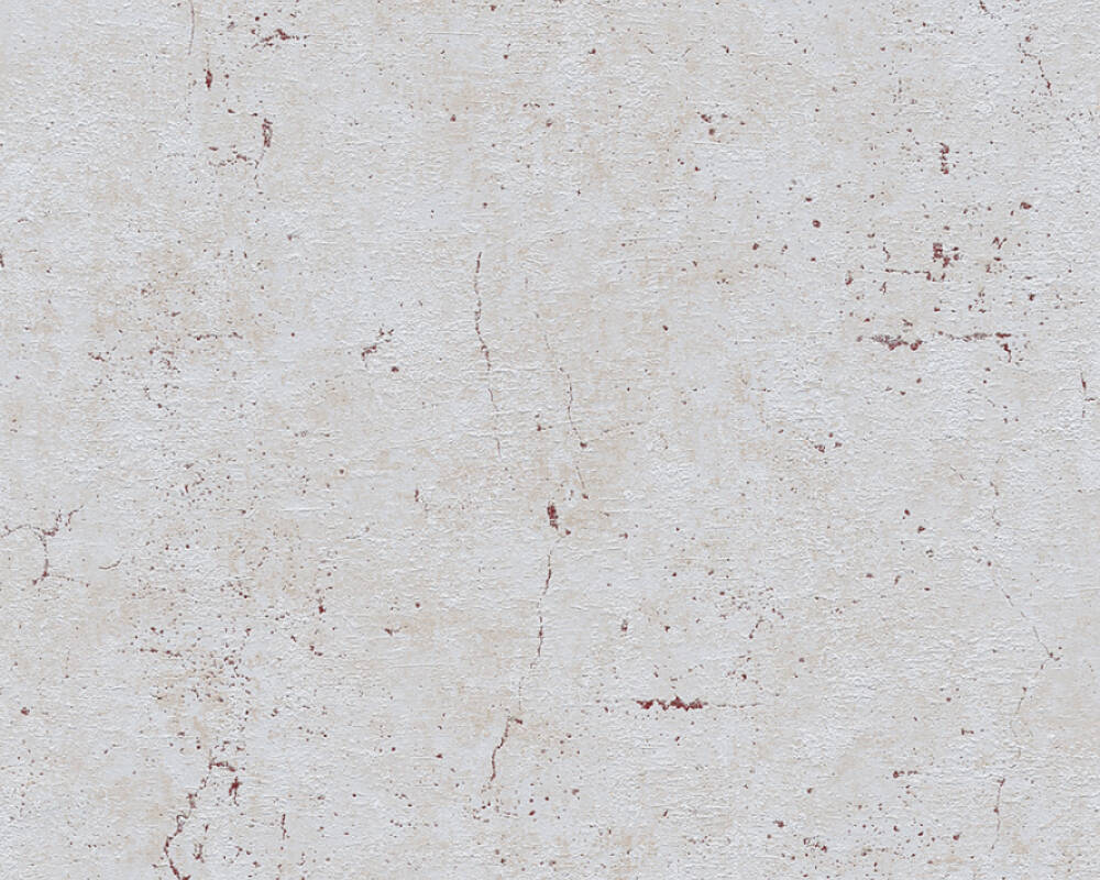 Livingwalls Wallpaper Concrete, Brown, Grey, Red 369116