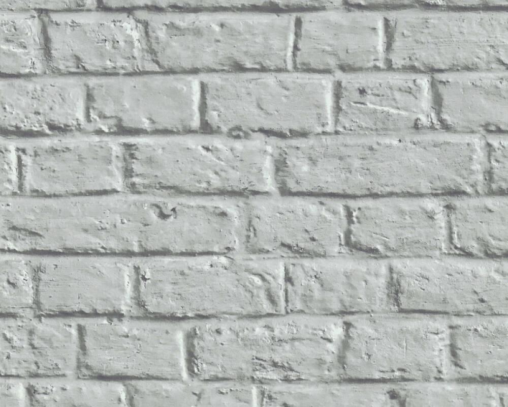 Livingwalls papier peint Pierre, Maison, 3D, gris 369124