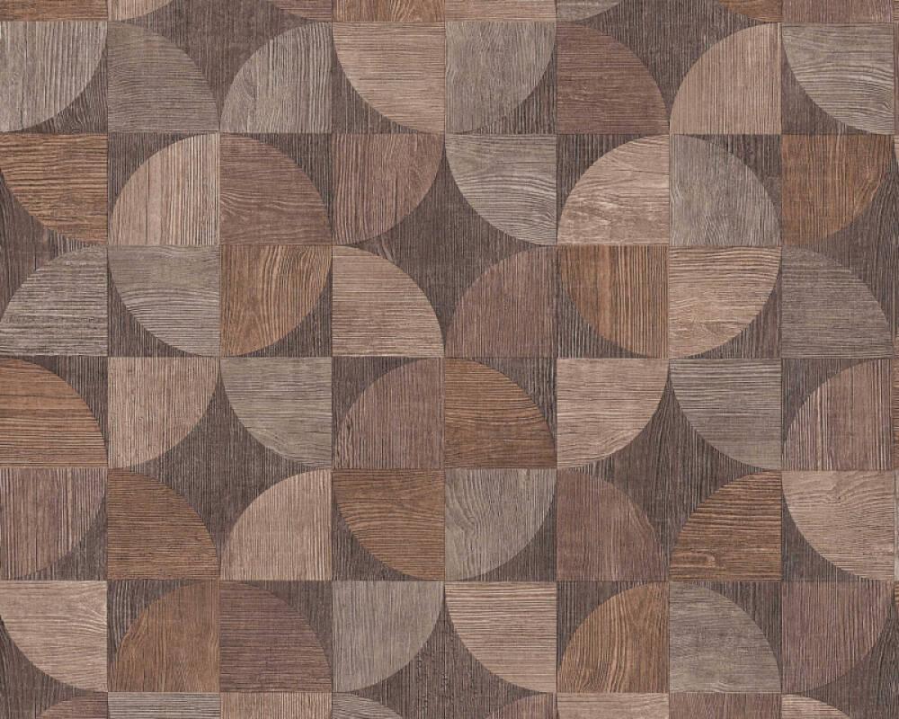 Livingwalls Tapete Holz, Beige, Braun, Grau 369131