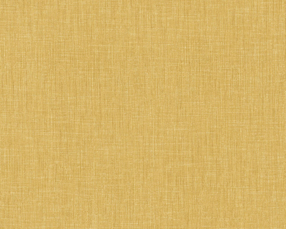 Livingwalls Wallpaper Uni, Yellow 369221