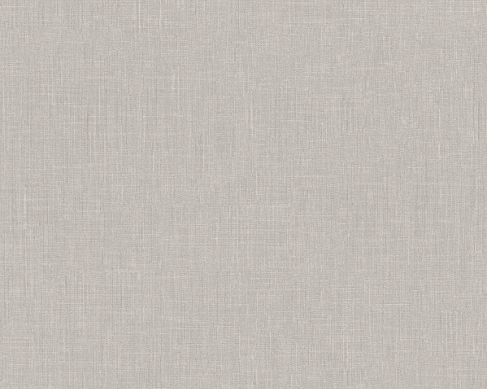 Livingwalls Wallpaper Uni, Beige, Grey 369226