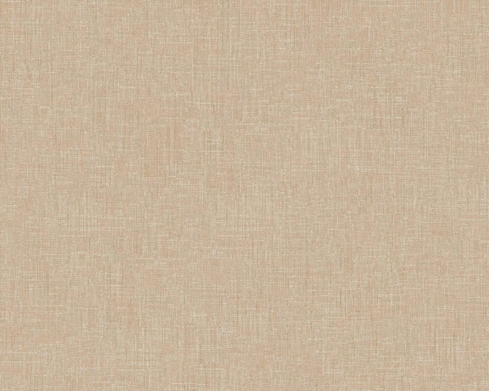 Livingwalls Wallpaper Uni, Beige, Brown 369257
