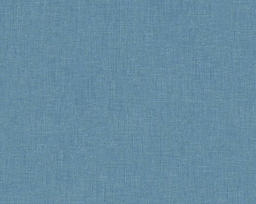 Livingwalls Wallpaper Uni, Blue 369259