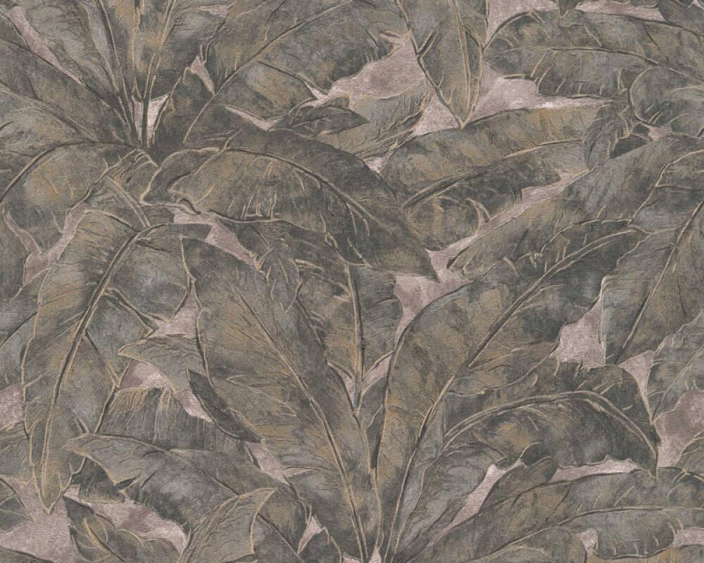 Livingwalls Tapete Dschungel, Beige, Bronze, Gold, Metallics 369271