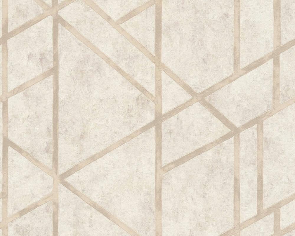 Livingwalls papier peint Graphique, crème 369284