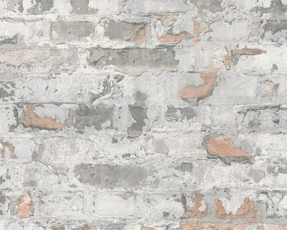 Livingwalls Wallpaper Stone, Cottage, Black, Grey, White 369292