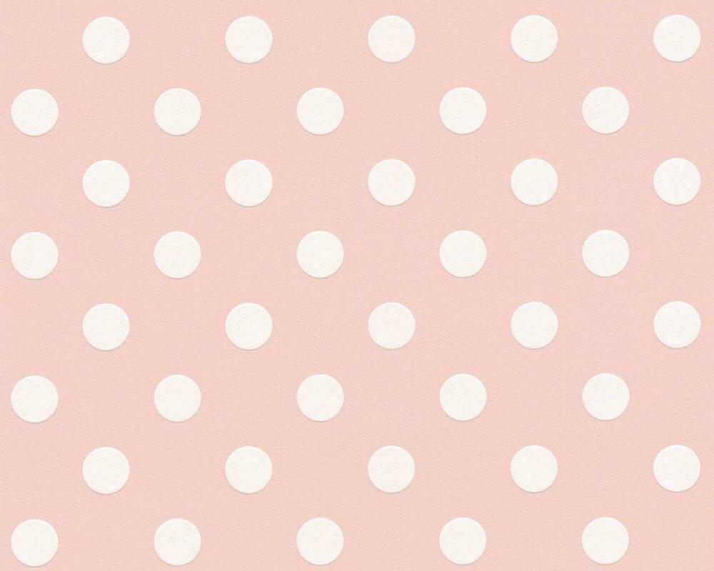 A.S. Création Обои Графика, Белые, Розовые 369343