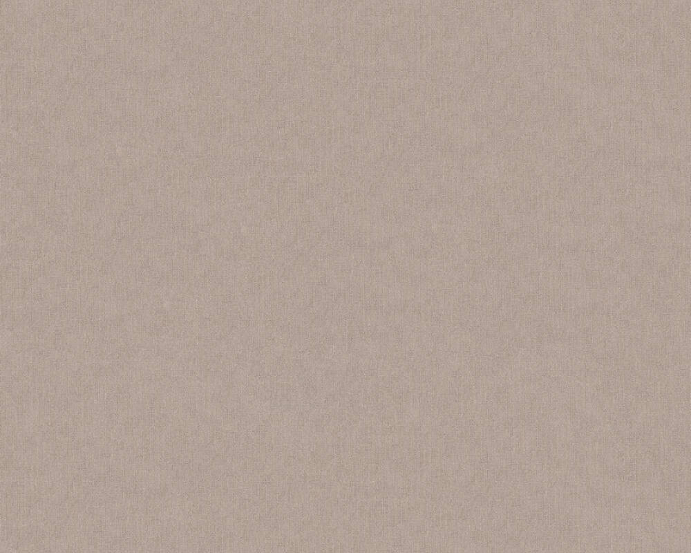A.S. Création Wallpaper Uni, Beige, Brown, Grey, Taupe 369385