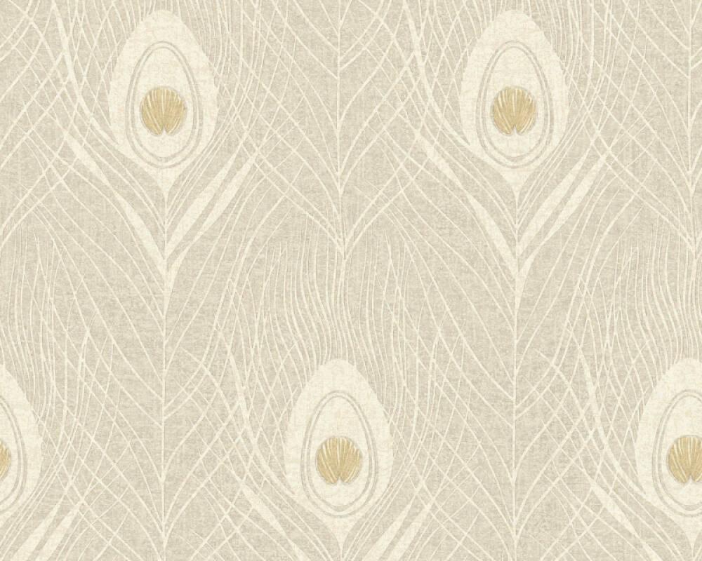 Architects Paper Wallpaper Graphics Beige Gold Grey Metallic 369717