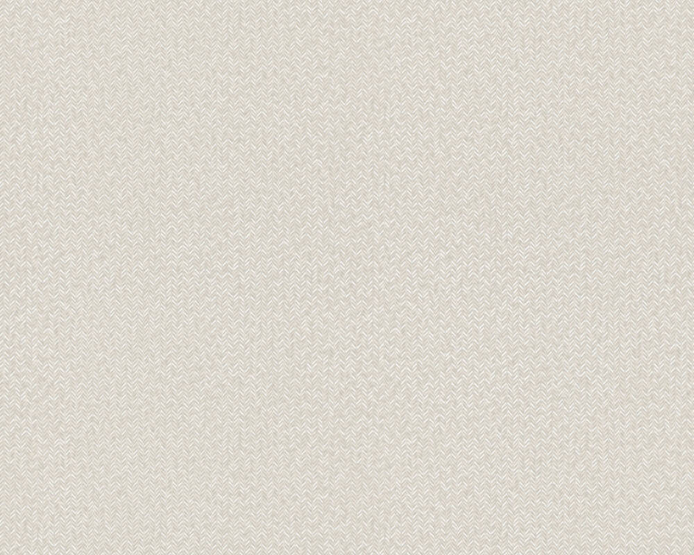 A.S. Création Wallpaper Uni, Beige, Cream, Grey, White 369783