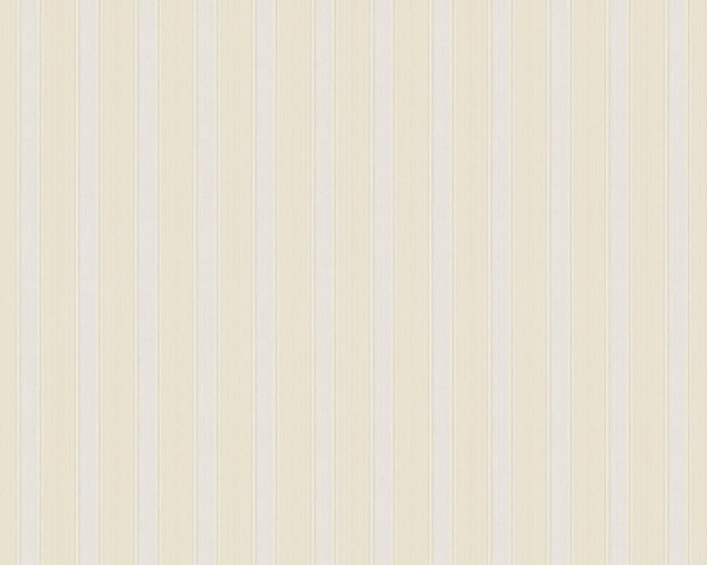 A.S. Création Wallpaper Stripes, Beige, Cream 370011