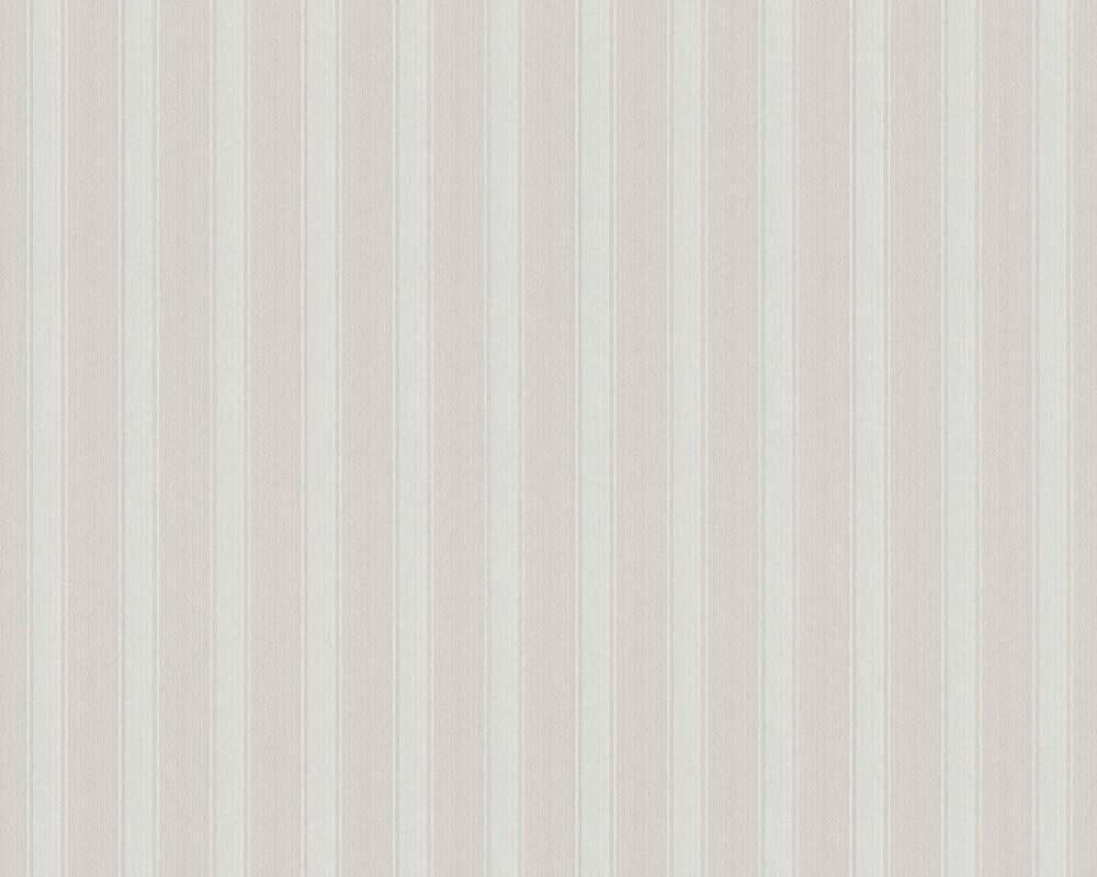 A.S. Création papier peint Rayures, gris 370012