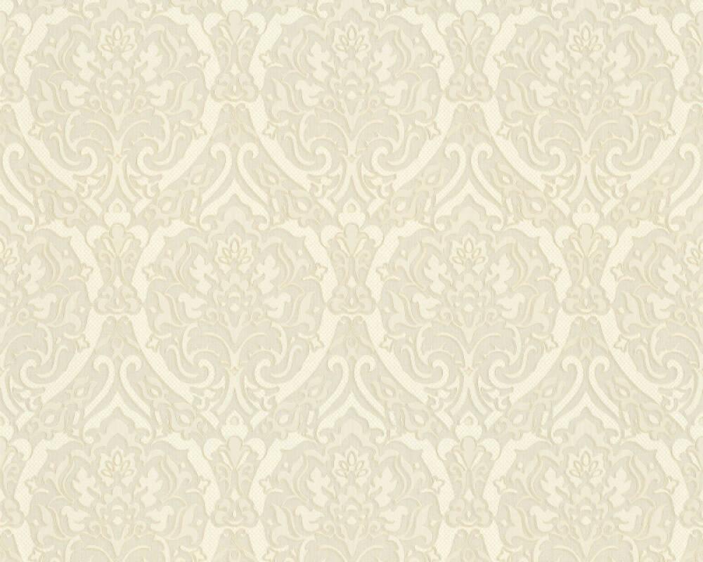A.S. Création Обои Барокко, 3D, Белые, Кремовые, Металлик 370022
