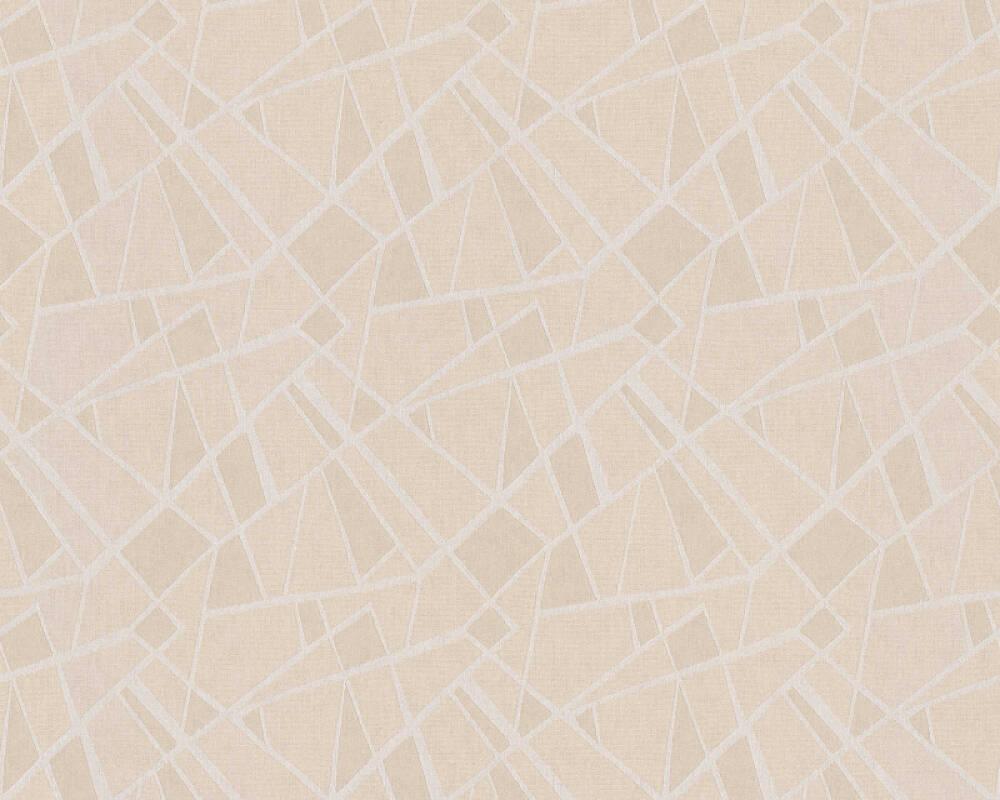 A.S. Création Tapete Grafik, Beige, Braun, Creme, Rot 370033