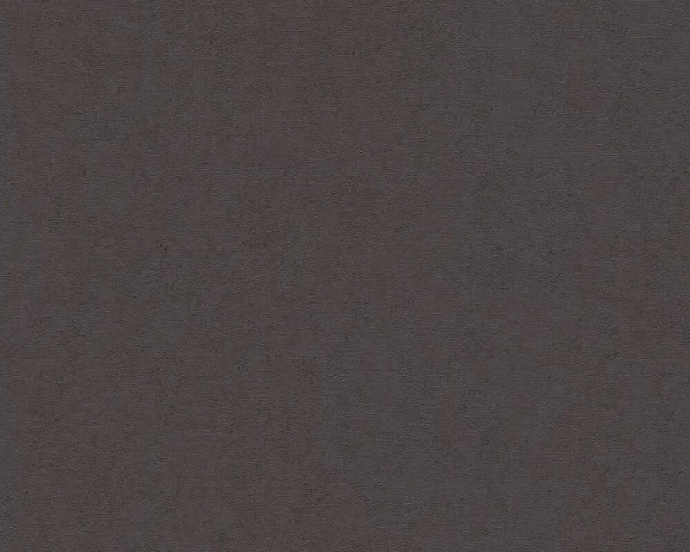 Versace Home Tapete Uni, Metallics, Schwarz 370504