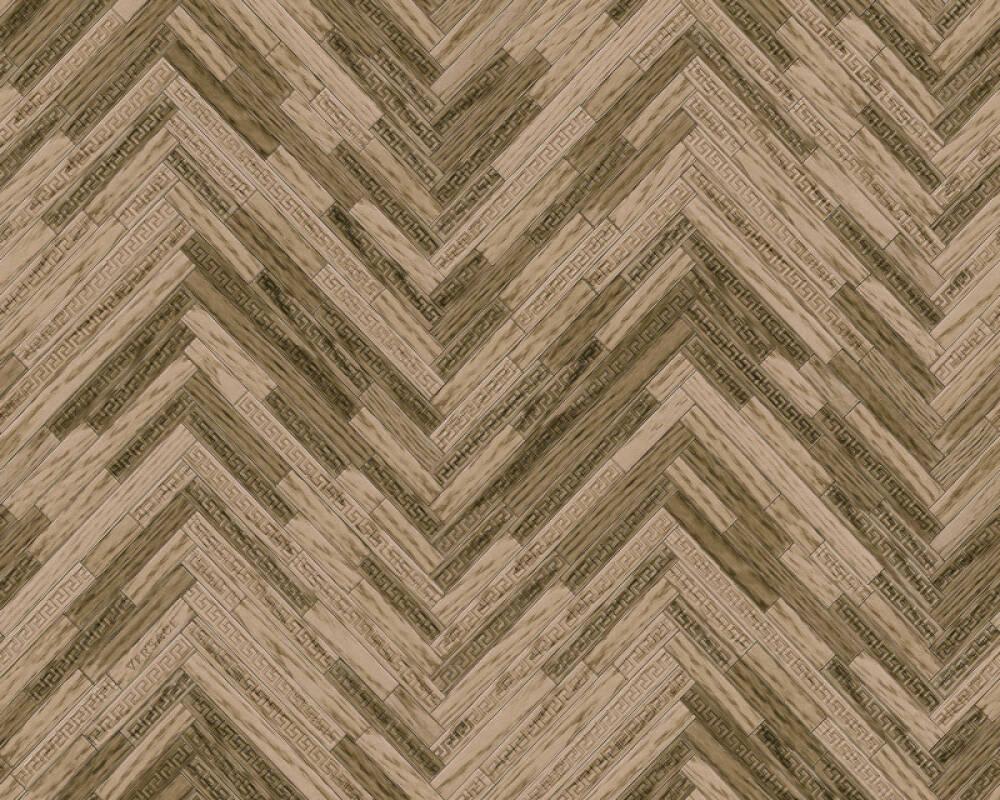 Versace Home papier peint Bois, Maison, beige, marron 370512