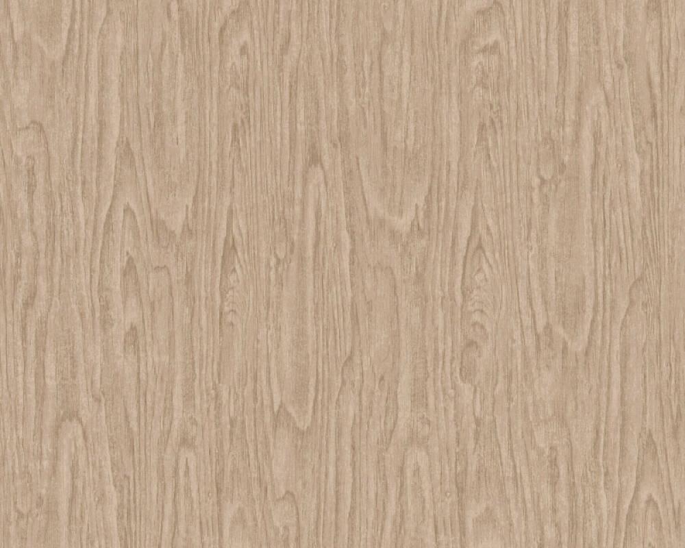 Versace Home Tapete Holz, Beige, Braun 370522