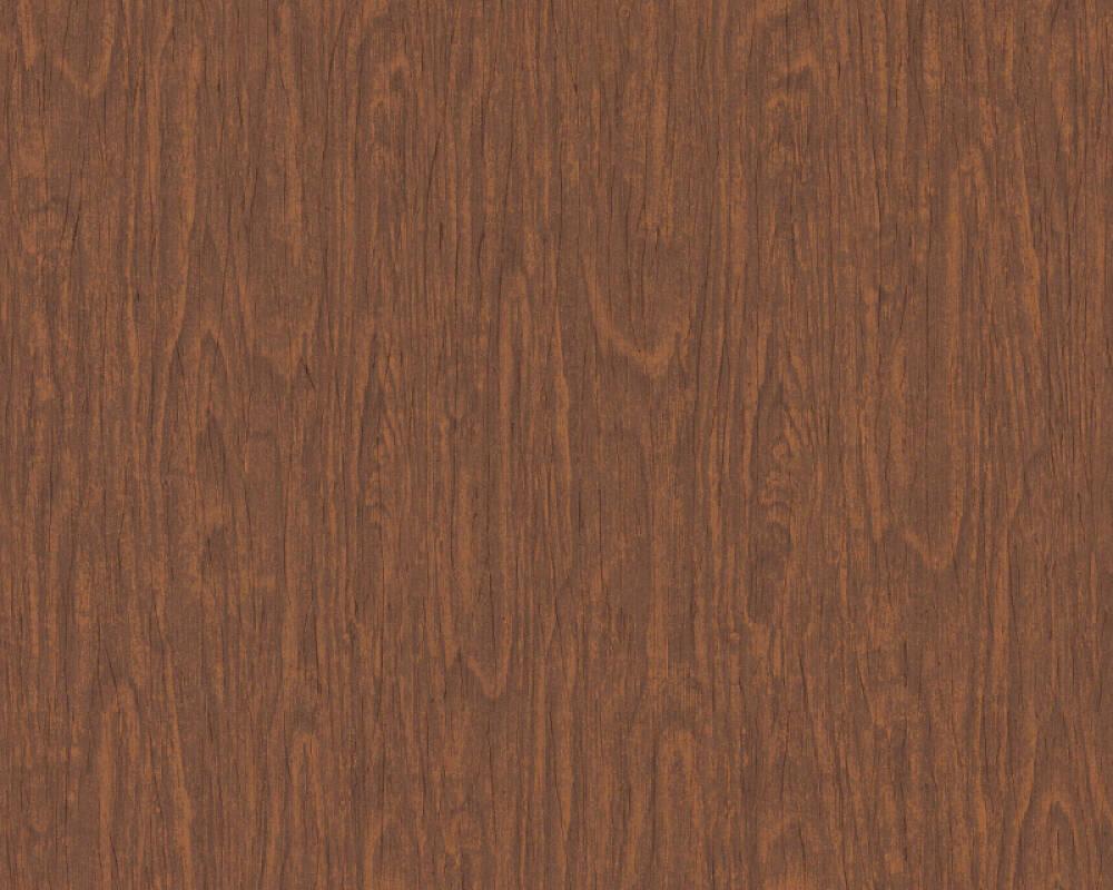 Versace Home Wallpaper Wood Brown Orange Red 370523