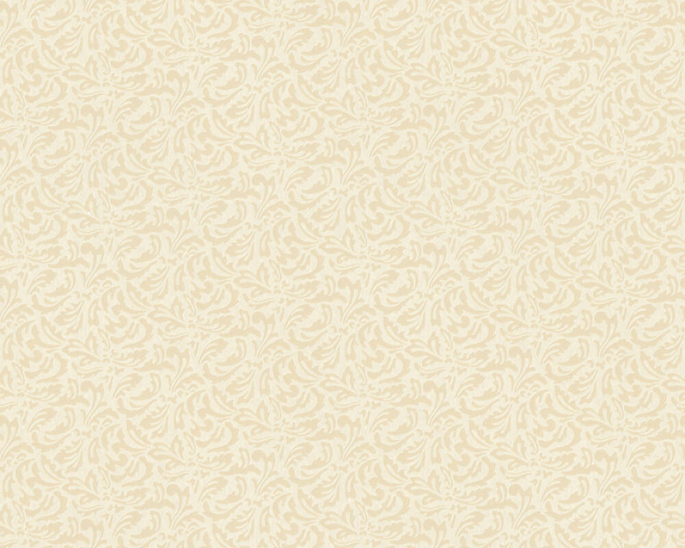 A.S. Création Wallpaper Baroque, Beige, Cream 370808