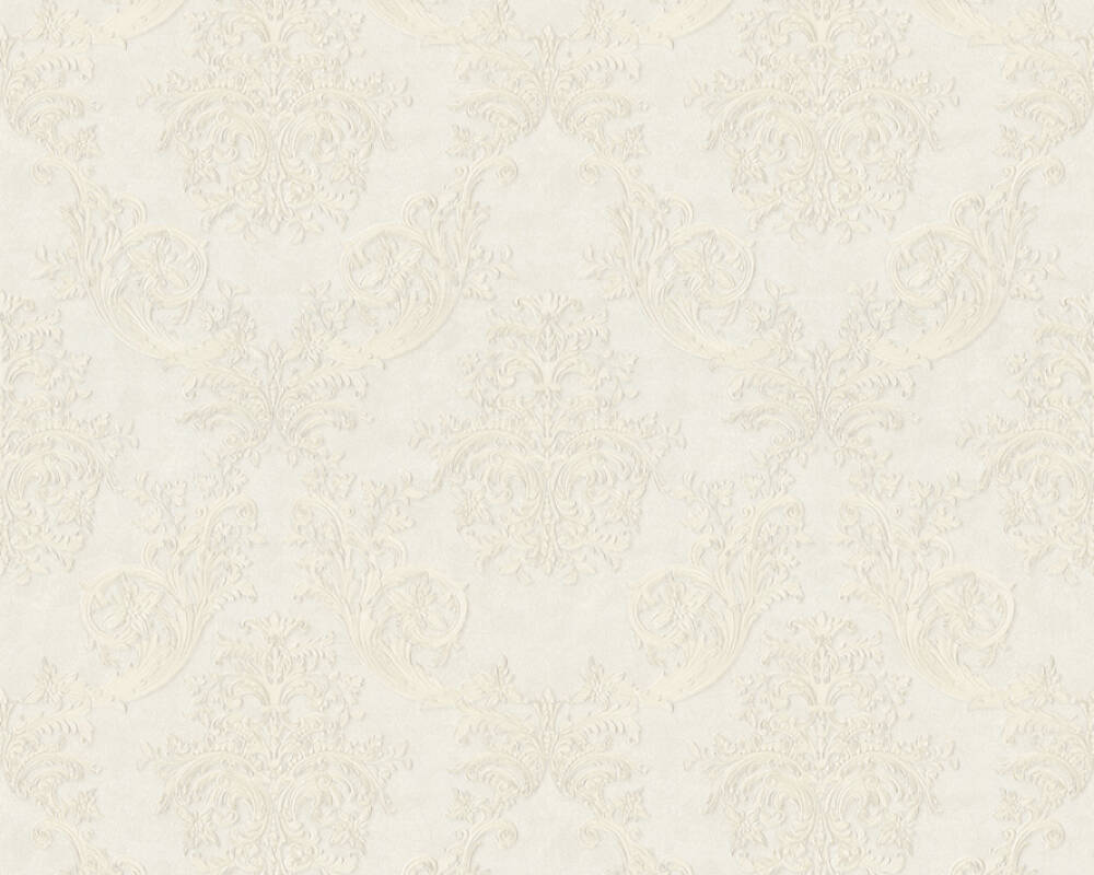 A.S. Création Tapete Barock, Weiß 371631
