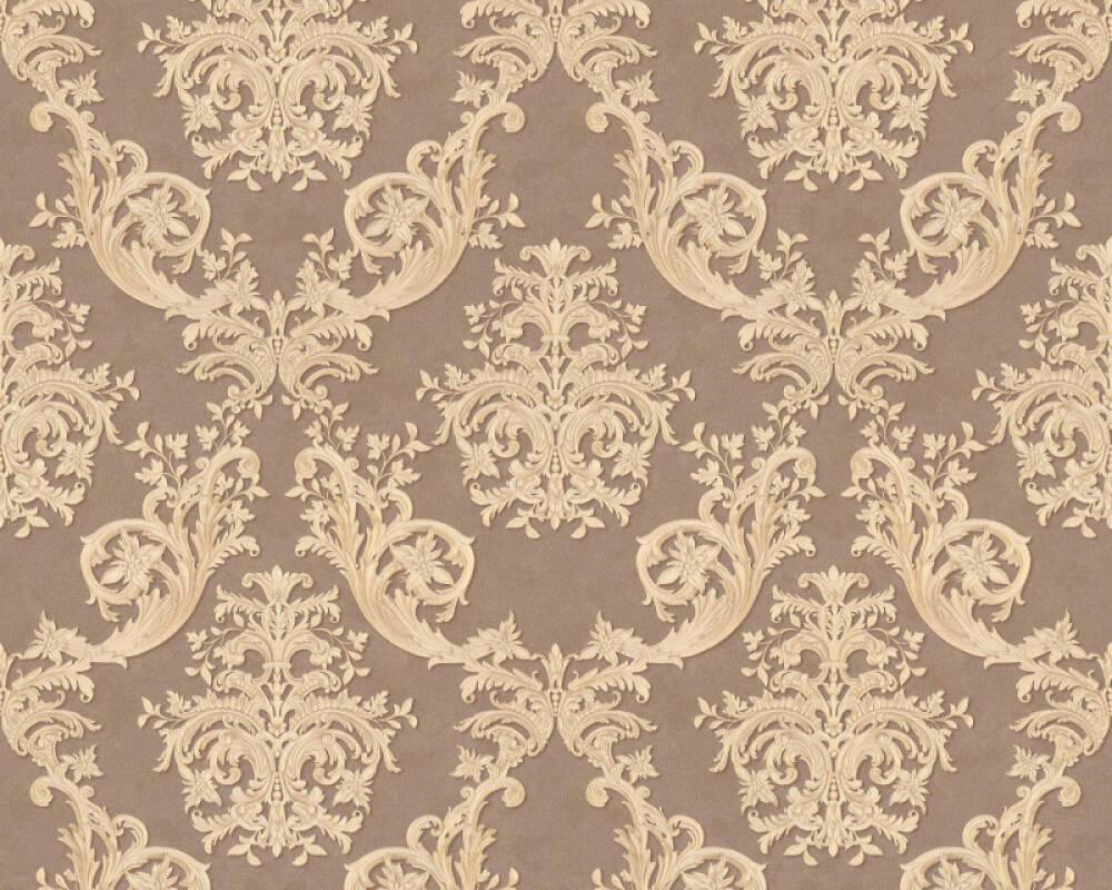 A.S. Création Tapete Barock, Beige, Braun, Gold, Metallics 371635