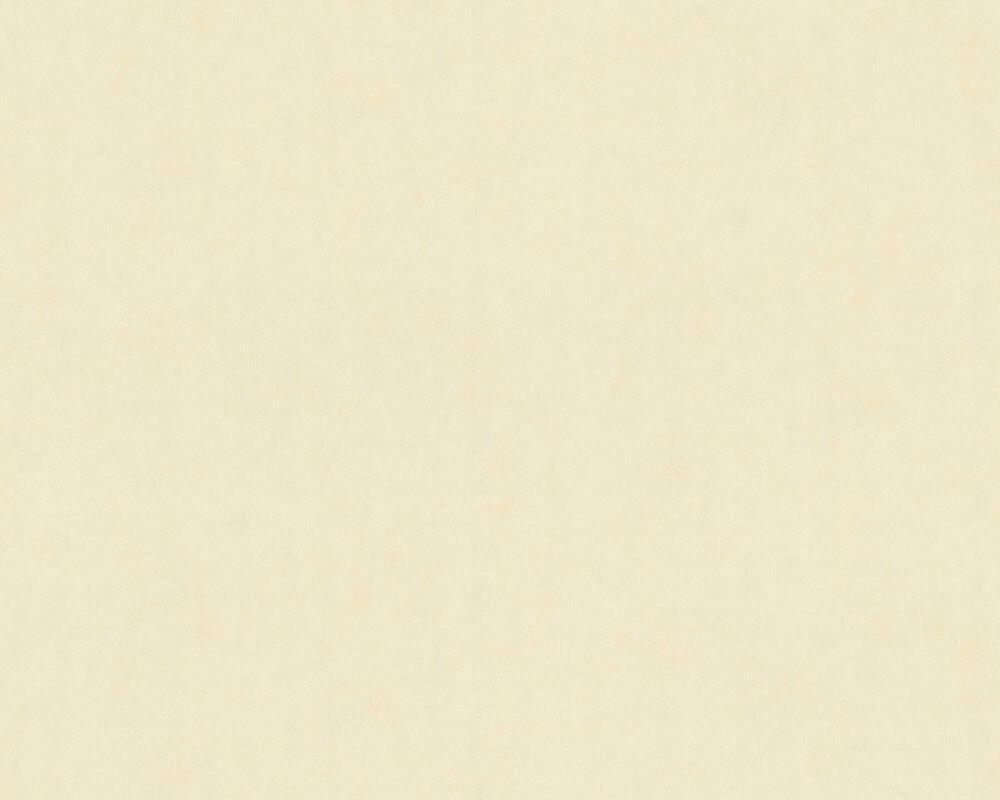A.S. Création papier peint Uni, crème, métallique, or 371643