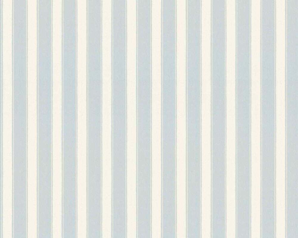 A.S. Création Tapete Streifen, Beige, Blau 371664