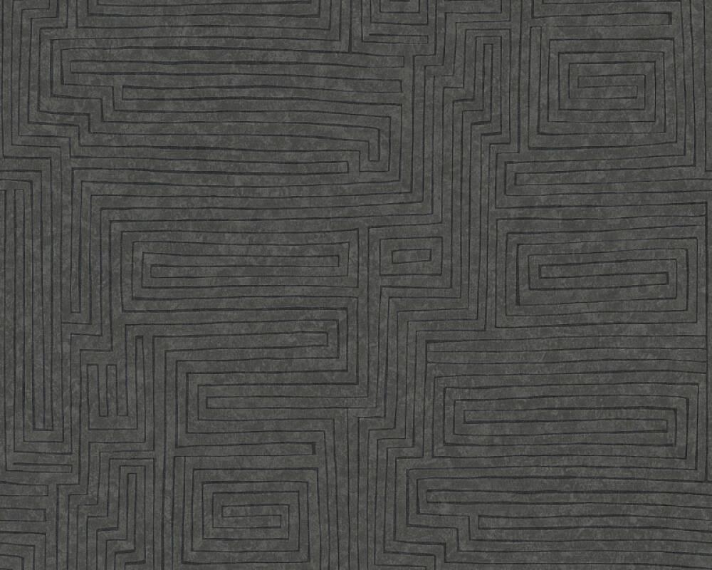 A.S. Création Обои Графика, Коричневыe, Черные 371713
