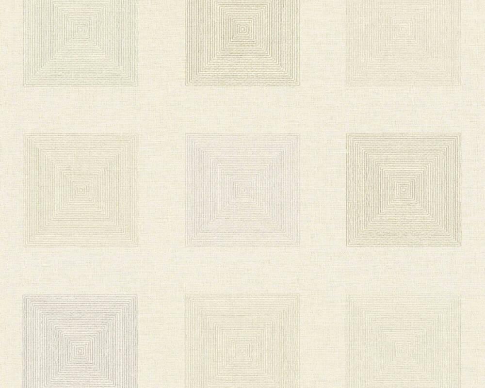 A.S. Création Обои Графика, Флора, Золото, Кремовые, Металлик, Серебро 371723