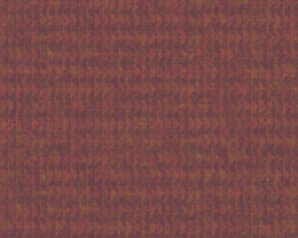 A.S. Création Tapete Grafik, Floral, Gold, Metallics, Rot, Violett 371732