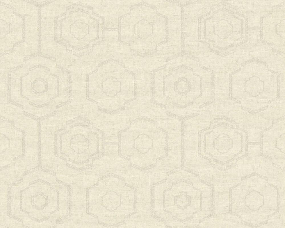 A.S. Création Обои Графика, Флора, Бежевые, Кремовые, Серыe, Тёмно-серые 371772