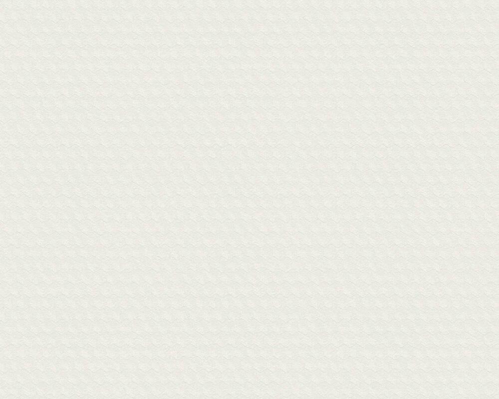 A.S. Création papier peint Uni, blanc 372112
