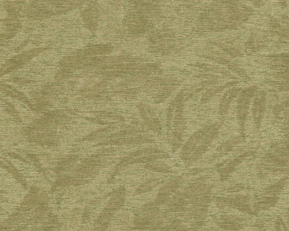 A.S. Création papier peint Floral, vert 372194