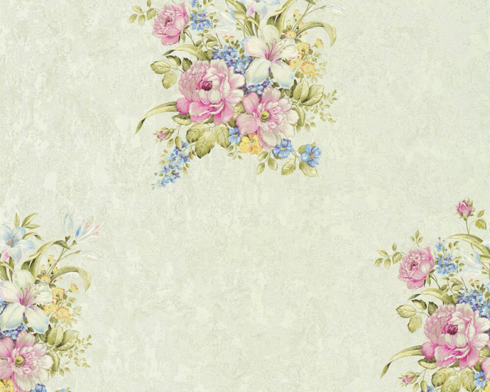 A.S. Création Обои Цветы, Зеленые, Розовые 372255