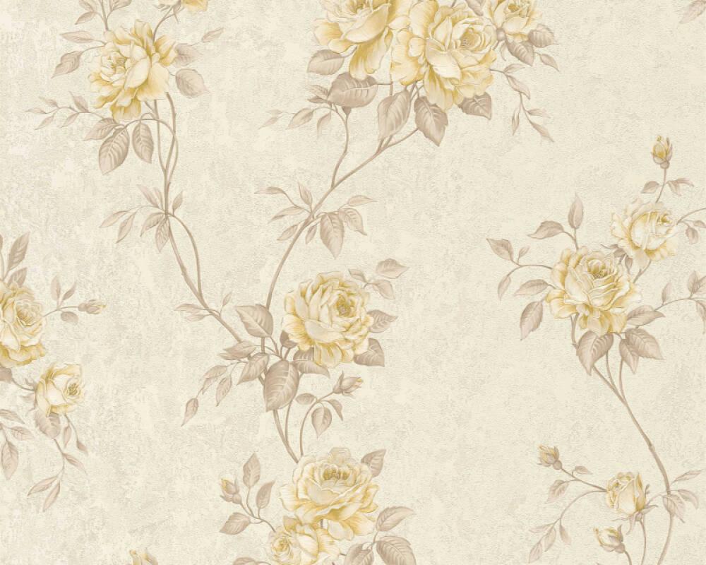 A S Creation Wallpaper Flowers Beige Brown Cream 372262